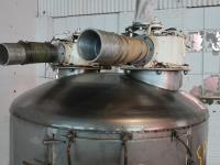 Bin 40 cu.ft., bulk storage bin, Stainless Steel