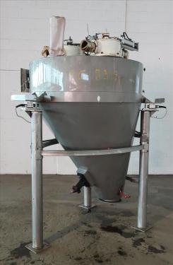 Bin 45 cu.ft., bulk storage bin, Stainless Steel