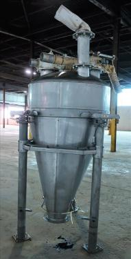 Bin Hopper Silo 40 cu.ft., bulk storage bin, Stainless Steel