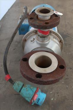 Pump 1-1/2x 2-6 Goulds centrifugal pump, 3 hp, Stainless Steel