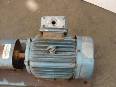 Pump 1x1.5x6 Power D centrifugal pump, 5 hp, 316 SS