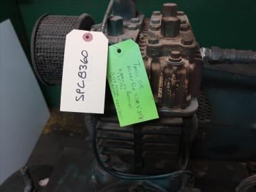 Compressor 5 hp Quincy air compressor model 325 15