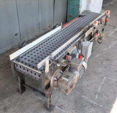 Conveyor belt conveyor CS, 14 wide x 7-0 long