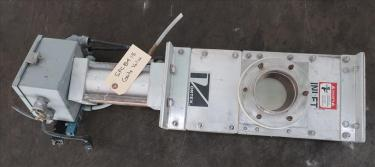 Valve 4 Salinia Vortex gate valve, pneumatic, Stainless Steel Contact Parts