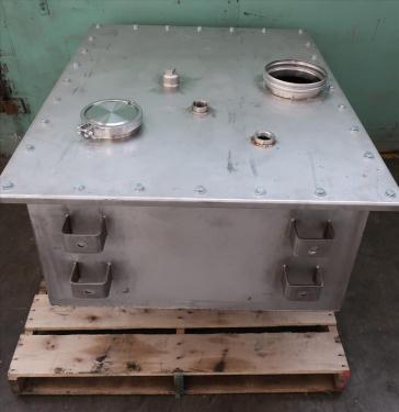 Bin 23.8 cu.ft., bulk storage bin, Stainless Steel