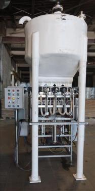 Filler 4 piston Simplex piston filler adjustable to 6 centers