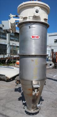 Dust Collector 118.3 sq.ft. MAC reverse pulse jet dust collector