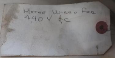 Pump 300  m3/hr flow rate Rietschie vacuum pump model VC300 10 hp
