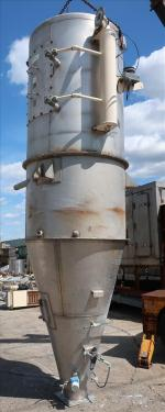 Dust Collector 590 sq.ft. MAC reverse pulse jet dust collector
