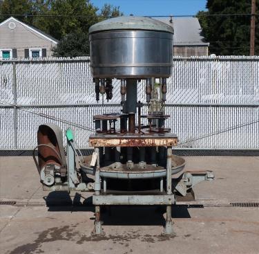 Filler 9/18 valve Horix liquid gravity filler 9.25 centers, up to 90/180 cpm