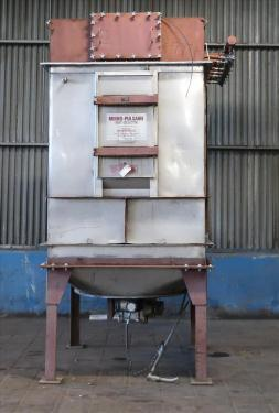 Dust Collector 450 sq.ft. Mikro-Pulsaire reverse pulse jet dust collector
