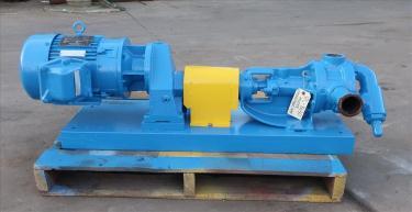 Pump 2 inlet Viking positive displacement pump model KK124, 2.0/3.0 hp, Cast Iron
