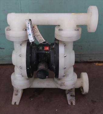 Pump 1.5 ARO Ingersoll Rand diaphragm pump, poly