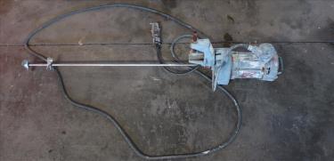 Agitator 1/3 hp electric Lightin clamp-on agitator